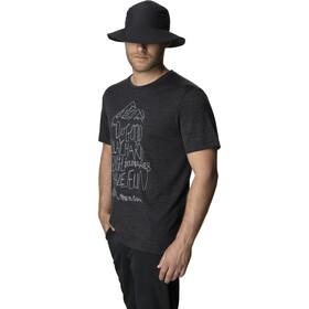 Houdini Activist Message Camiseta manga corta Hombre, true black